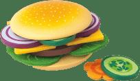 WOODY Priprav si svoj hamburger