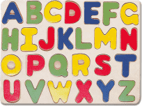 BINO Puzzle - abeceda 26 ks