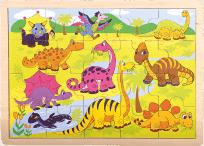 BINO Puzzle, Dinosauři, 20 ks