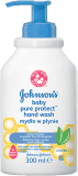 JOHNSON'S BABY Pure Protect tekuté mydlo PP (300 ml)