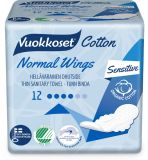VUOKKOSET Cotton Normal Wings Thin (12ks) – dámské vložky