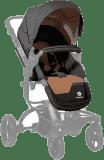 PETITE&MARS Sportovní sedačka ke kočárku Vario/ Spider - Black Melange