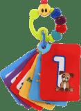 BABY EINSTEIN Karty zábavně-vzdělávací Take Along Discovery Cards™ čísla 0m+