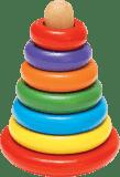 WOODY Magnetyczna piramida do układania