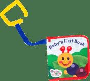 BABY EINSTEIN Knižka na C-krúžku Explore & Discover™ 0m+