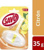SAVO Citrón Tuhý WC blok, 35 g