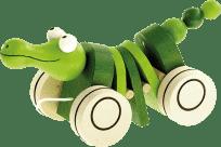 BINO Krokodyl na sznurku