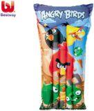 BESTWAY Nafukovací plážový matrac Angry Birds, 119x61 cm