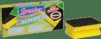 SPONTEX 3 Super Max houba tvarovaná velká (Feedo klub)