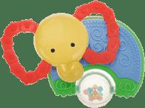 BABY'S HAPPINESS Hryzátko s hrkálkou - slon