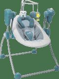 BABYMOOV Bubble Swing, Zinc (modrá) – houpačka