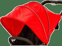 VALCO Strieška ku kočíku Snap 4, červená