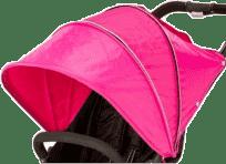 VALCO Strieška ku kočíku Snap 4, ružová