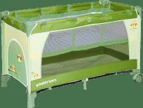 PATRON Cestovná postieľka Skippy Plus 2017 – Owl green