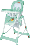 PATRON Składane krzesełko do karmienia Troll - owl mint