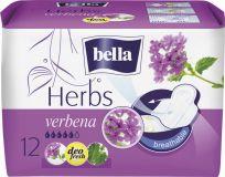 BELLA Herbs Verbena, 12 ks - prodyšné hygienické vložky