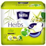 BELLA Herbs Tilia, 12 ks - prodyšné hygienické vložky
