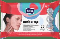 BELLA Make-up odličovací vlhčené ubrousky, 20 ks