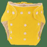 BOBOLIDER Plenkové kalhotky ECO Bobolider B1 – žluté, vložka z mikrovlákna