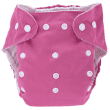 BOBOLIDER Plenkové kalhotky ECO Bobolider B18 – růžové, vložka z mikrovlákna