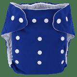 BOBOLIDER Plenkové kalhotky ECO Bobolider B6 – tmavomodré, vložka z mikrovlákna