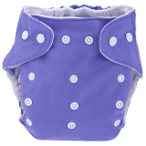 BOBOLIDER Plenkové kalhotky ECO Bobolider B8 – fialové, vložka z mikrovlákna