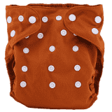 BOBOLIDER Plenkové kalhotky ECO Bobolider B30 – hnědé