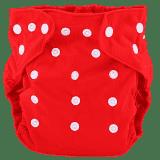 BOBOLIDER Plenkové kalhotky ECO Bobolider B7 – červené