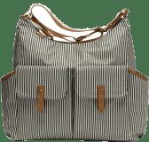 BABYMEL Přebalovací taška Frankie – Stripe Navy