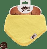 KIKKO Bambusowy śliniaczek/ściereczka Colours (1 szt.) – lemon