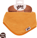 KIKKO Bambusowy śliniaczek/ściereczka Colours (1 szt.) – orange