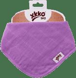 KIKKO Bambusový slintáček/šátek Colours (1 ks) – lilac