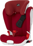 RÖMER Kidfix II XP autosedačka 15 - 36 kg (Isofix) Flame Red 2017