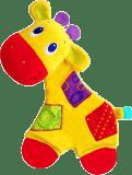 BRIGHT STARTS Kousátko Sunggle & Teethe, žirafa, 0m+