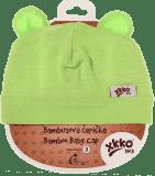 KIKKO Bambusowa dziecięca czapeczka Colours, rozm.3 - lime