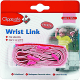 CLIPPASAFE vodítko na ruku pro dítě- růžová