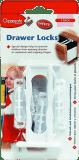 CLIPPASAFE Zabezpieczenie szafek/szuflad 3 szt.