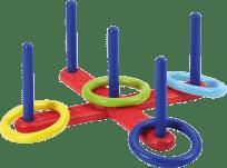 ECOIFFIER Hádzanie krúžkov - kríž (4 krúžky)