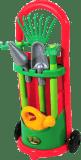 ECOIFFIER Wózek z narzędziami ogrodowymi i konewką