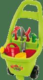 ECOIFFIER Záhradný vozík s náradím, kvetináči a kanvičkou