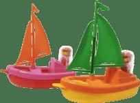 ECOIFFIER Lodička s figurkou - různé druhy