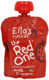 5x ELLA´S Kitchen Owocowe puree - Truskawki (The Red One) 90 g