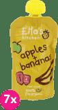 7x ELLA'S Kitchen, Jablko, banán 120g