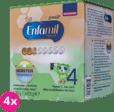 4x ENFAMIL Premium 4 (1200g) Mleko modyfikowane od 2. roku