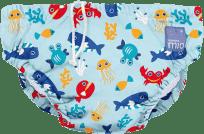 BAMBINO MIO Nohavičkové plienky kúpacie Deep Sea Blue vel.L (9-12 kg)