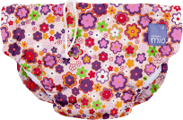 BAMBINO MIO Nohavičkové plienky kúpacie Ditz Floral vel.S (5-7 kg)