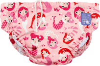 BAMBINO MIO Kalhotkové pleny koupací Mermaid vel.S (5-7 kg)