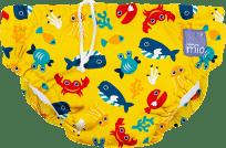 BAMBINO MIO Nohavičkové plienky kúpacie Deep Sea Yellow vel.XL (12-15kg)