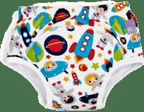 BAMBINO MIO Tréningové plienkové nohavičky 18-24 mesiacov - Outer Space