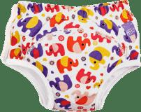 BAMBINO MIO Tréningové plienkové nohavičky 18-24 mesiacov - Pink Elephant